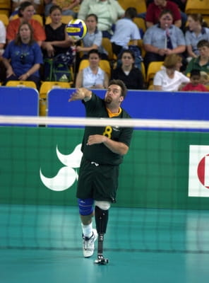 Nigel Smith - Paralympic Volleyball