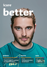 Screenshot of the Better magazine's cover